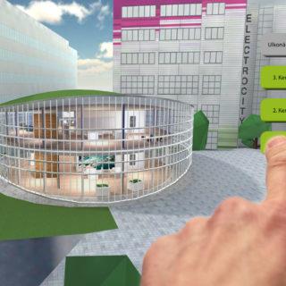 premode, lisätty todellisuus, augmented reality, hololens